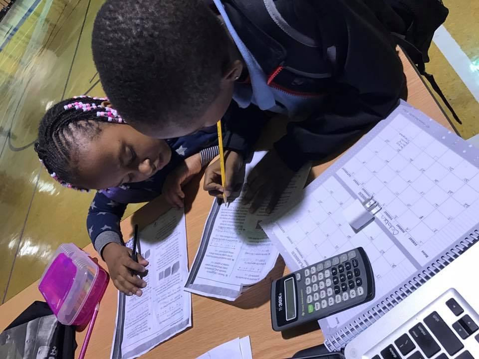 children doing math homework Fortunate Kids